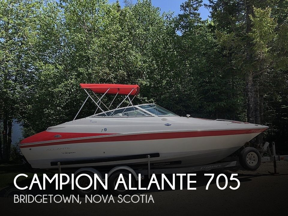 Used Campion  Boats For Sale by owner | 2001 Campion Allante 705