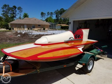 Classic Handcrafted Clarkcraft Design Hydroplane, 17, for sale - $33,900
