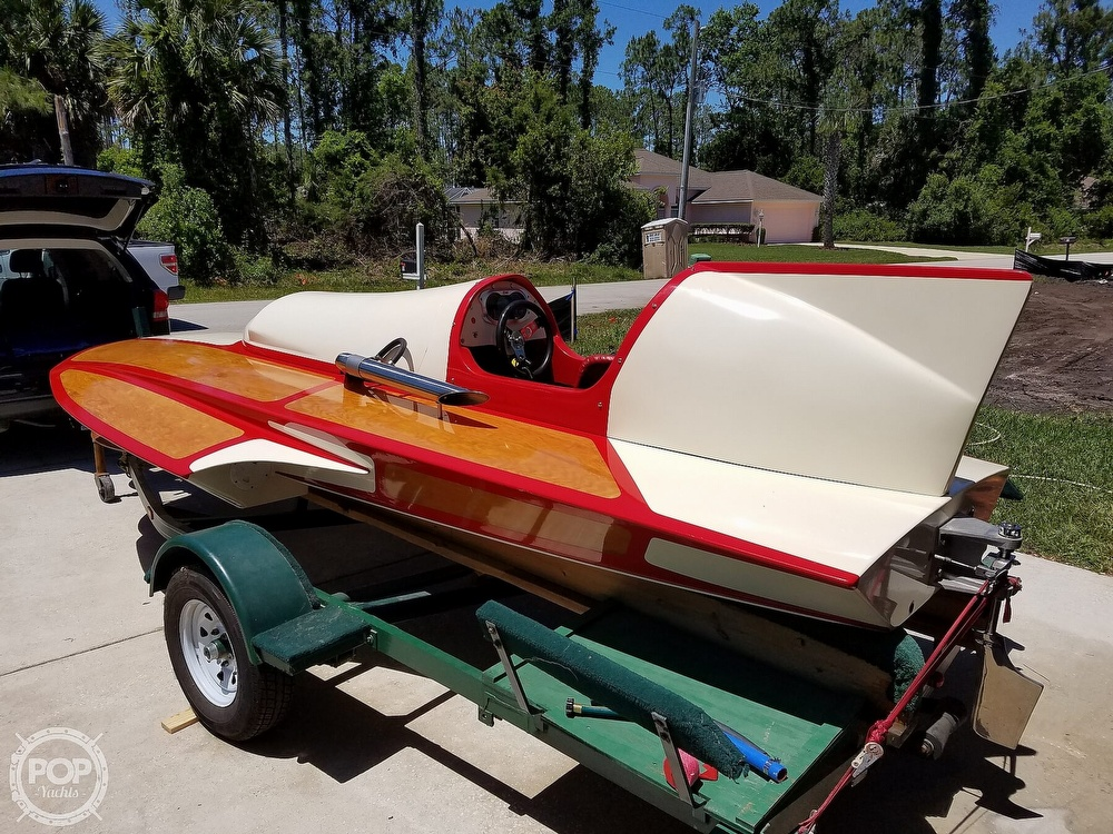 2019 Classic boat for sale, model of the boat is Handcrafted Clarkcraft Design Hydroplane & Image # 11 of 36
