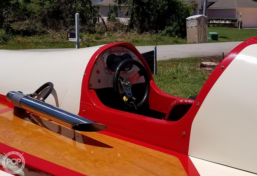 2019 Classic boat for sale, model of the boat is Handcrafted Clarkcraft Design Hydroplane & Image # 5 of 36