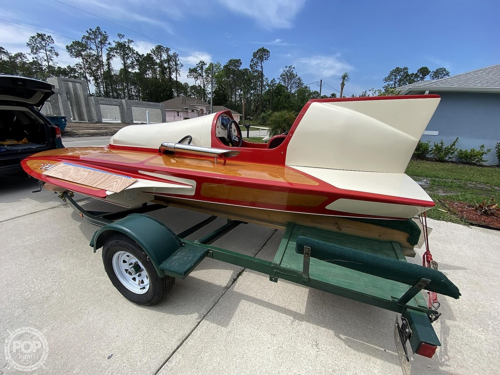 2019 Classic boat for sale, model of the boat is Handcrafted Clarkcraft Design Hydroplane & Image # 10 of 36