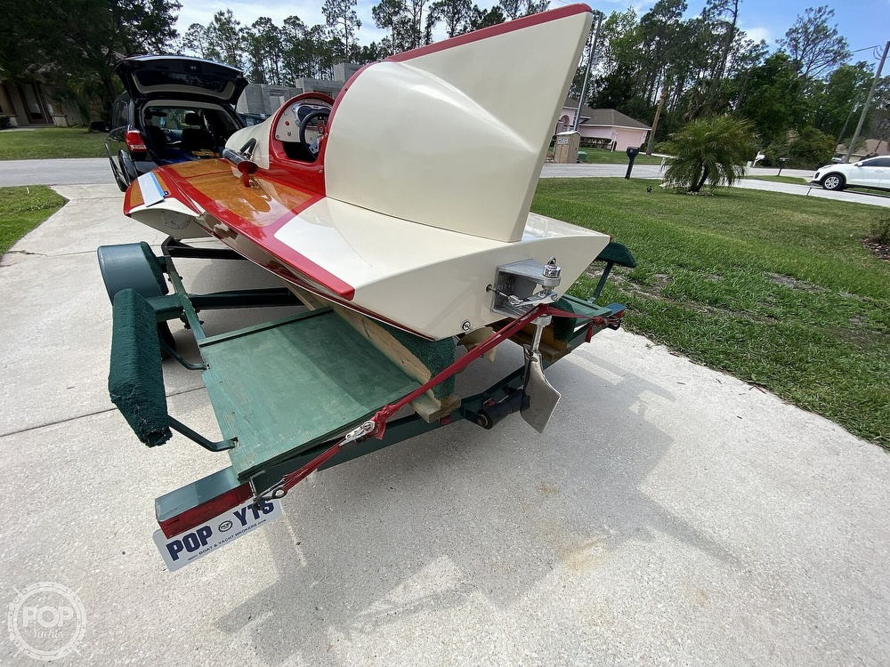 2019 Classic boat for sale, model of the boat is Handcrafted Clarkcraft Design Hydroplane & Image # 12 of 36