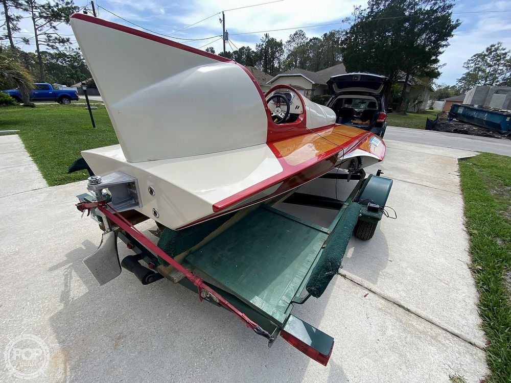 2019 Classic boat for sale, model of the boat is Handcrafted Clarkcraft Design Hydroplane & Image # 14 of 36