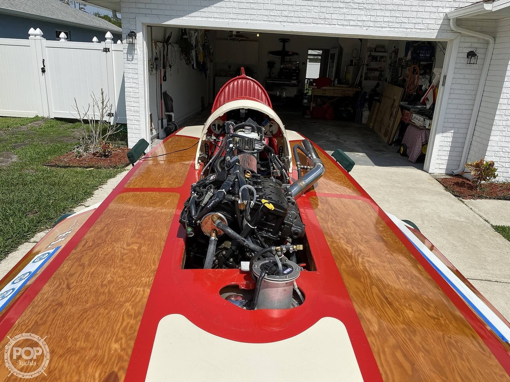2019 Classic boat for sale, model of the boat is Handcrafted Clarkcraft Design Hydroplane & Image # 22 of 36