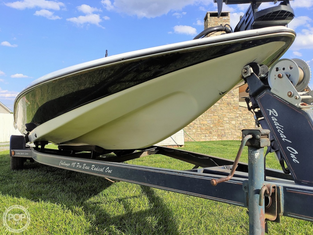 1992 Challenger boat for sale, model of the boat is 198 Pro Bass Radical One & Image # 14 of 40