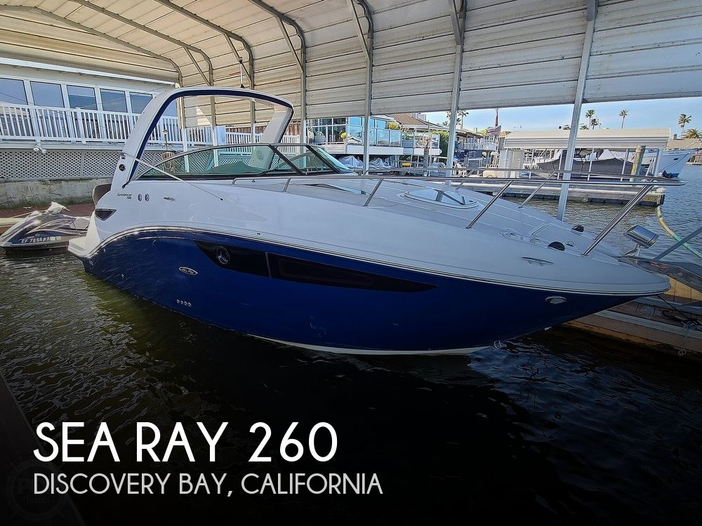 2014 Sea Ray boat for sale, model of the boat is 260 Sundancer & Image # 1 of 40