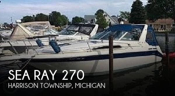 1991 Sea Ray boat for sale, model of the boat is 270 Sundancer & Image # 1 of 1