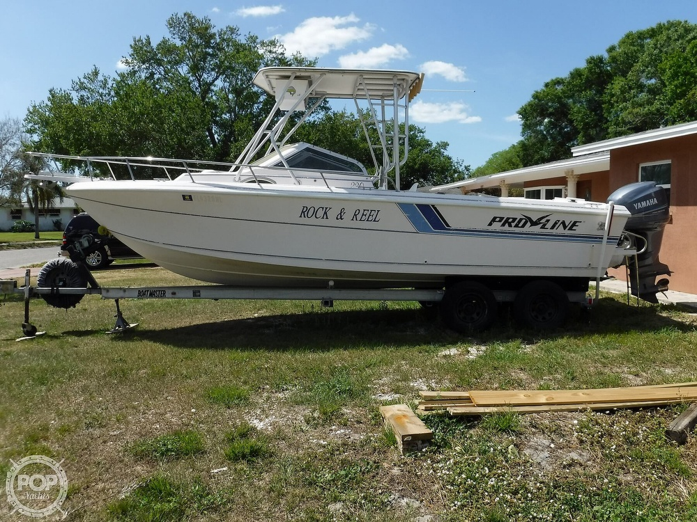 1993 Pro-Line boat for sale, model of the boat is 230 Cuddy Fish & Image # 2 of 40