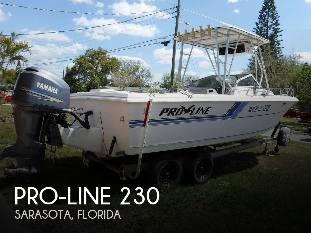 1993 Pro-Line boat for sale, model of the boat is 230 Cuddy Fish & Image # 1 of 40