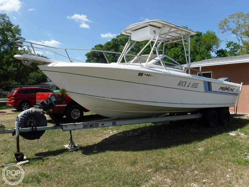 1993 Pro-Line boat for sale, model of the boat is 230 Cuddy Fish & Image # 23 of 40