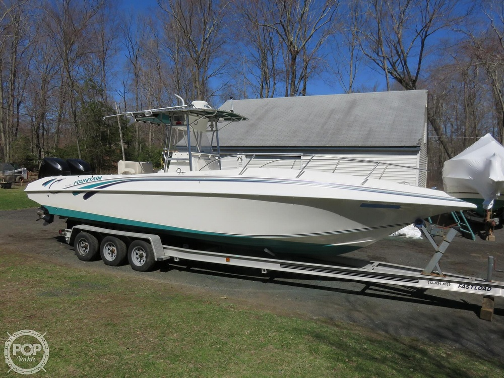 1999 Fountain boat for sale, model of the boat is 31 TE & Image # 2 of 40