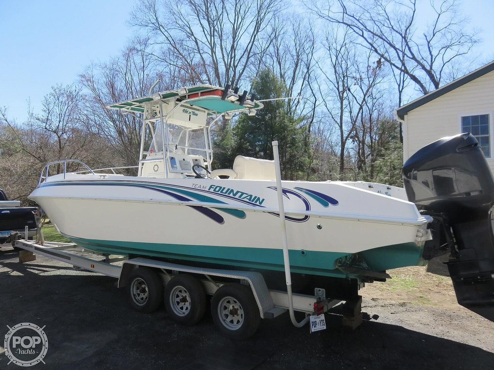 1999 Fountain boat for sale, model of the boat is 31 TE & Image # 4 of 40