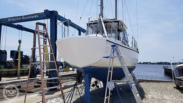 1974 Gulfstar boat for sale, model of the boat is 41 & Image # 2 of 40