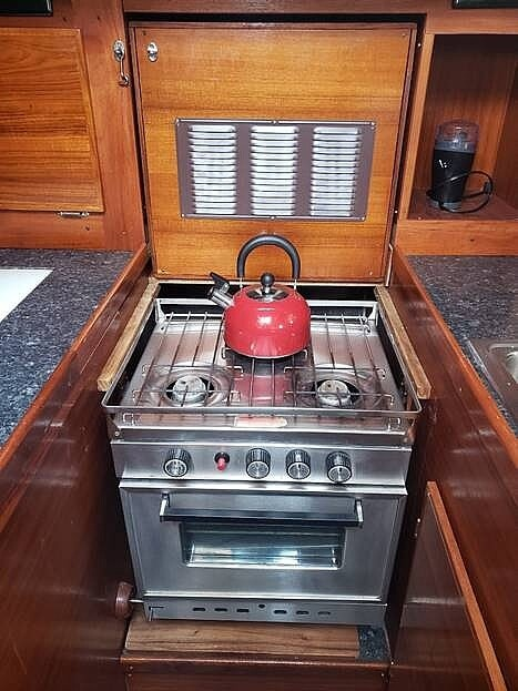 1974 Gulfstar boat for sale, model of the boat is 41 & Image # 9 of 40