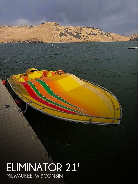 Used ELIMINATOR Boats For Sale by owner | 1981 21 foot Eliminator Day Cruiser