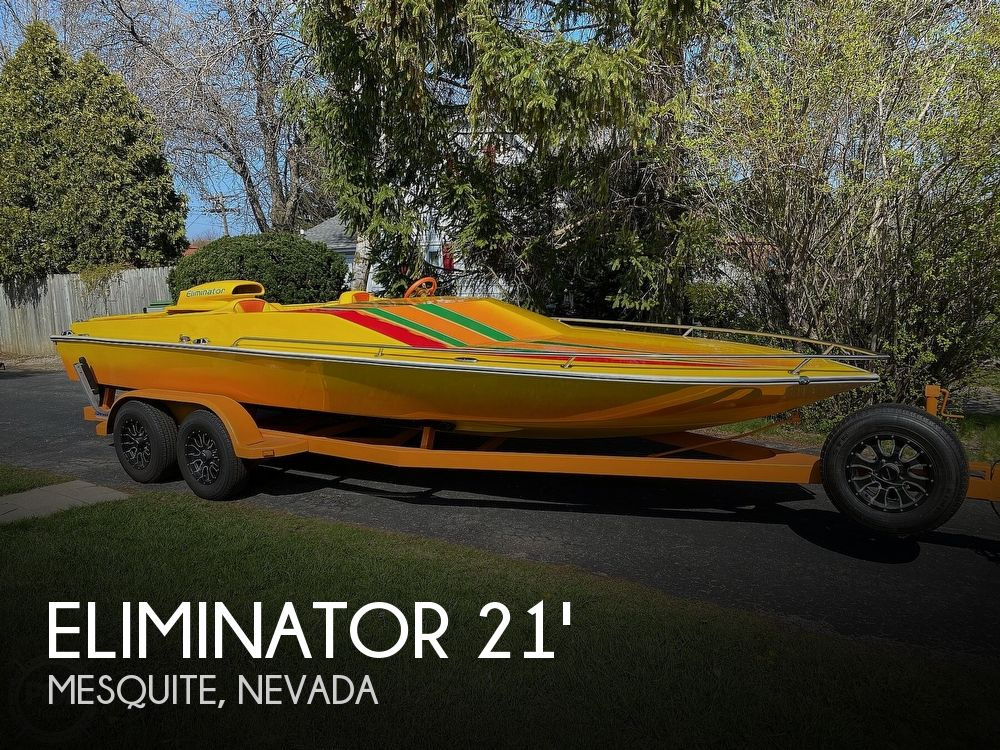 1981 Eliminator boat for sale, model of the boat is Day Cruiser & Image # 1 of 40