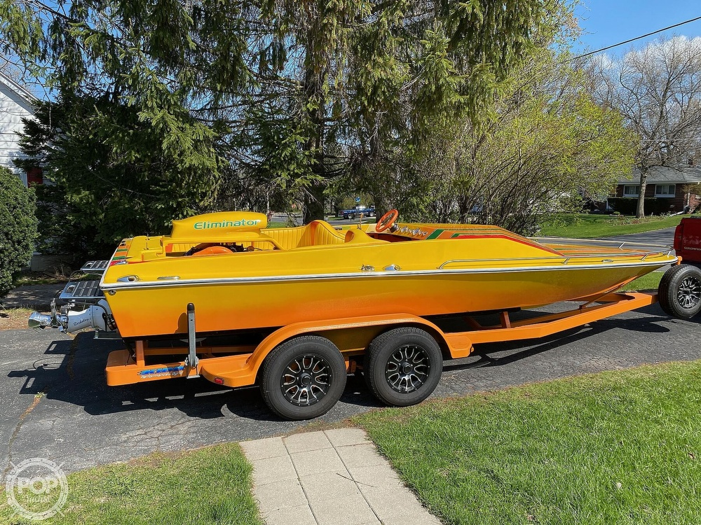 1981 Eliminator boat for sale, model of the boat is Day Cruiser & Image # 37 of 40