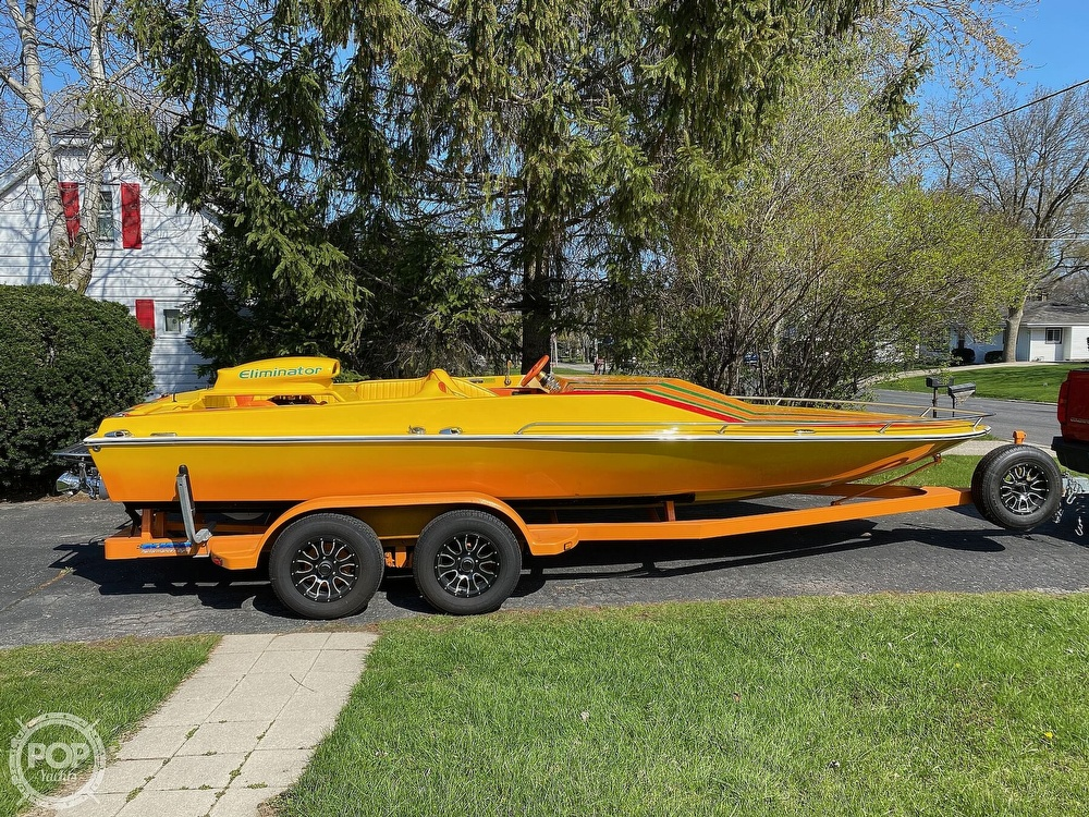 1981 Eliminator boat for sale, model of the boat is Day Cruiser & Image # 38 of 40