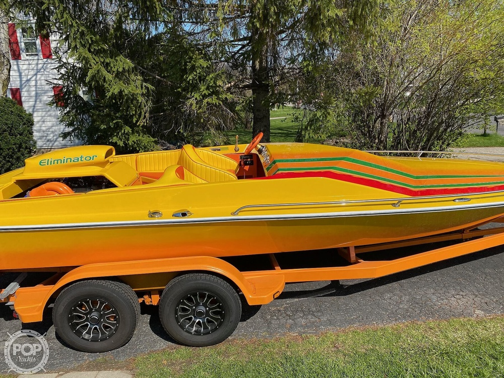 1981 Eliminator boat for sale, model of the boat is Day Cruiser & Image # 39 of 40