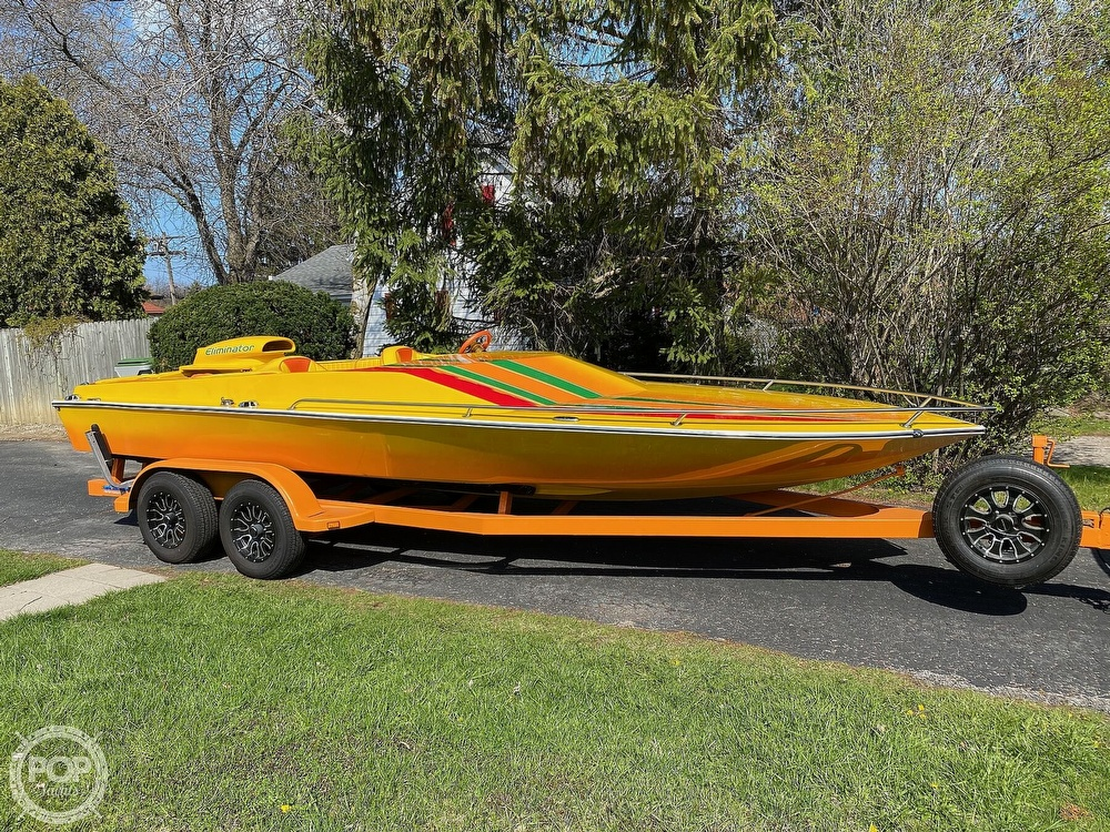 1981 Eliminator boat for sale, model of the boat is Day Cruiser & Image # 40 of 40