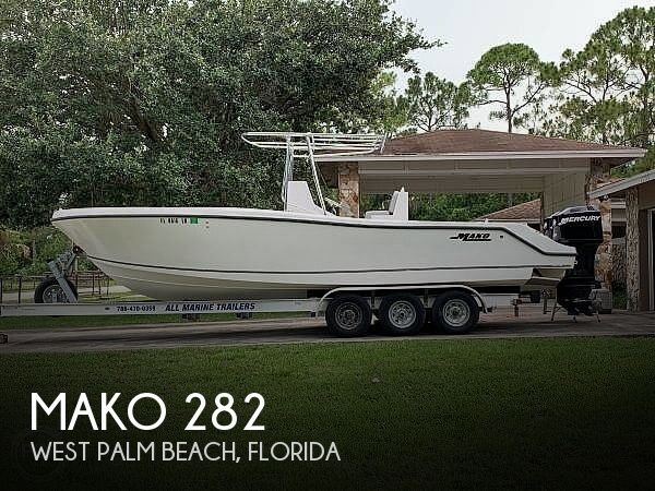 Used MAKO Boats For Sale in Florida by owner | 2001 Mako 282