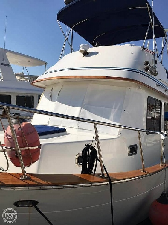 1987 CHB boat for sale, model of the boat is 34 Tri-Cabin & Image # 2 of 40