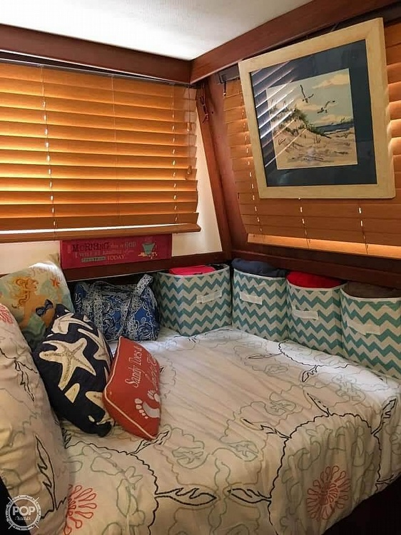 1987 CHB boat for sale, model of the boat is 34 Tri-Cabin & Image # 6 of 40