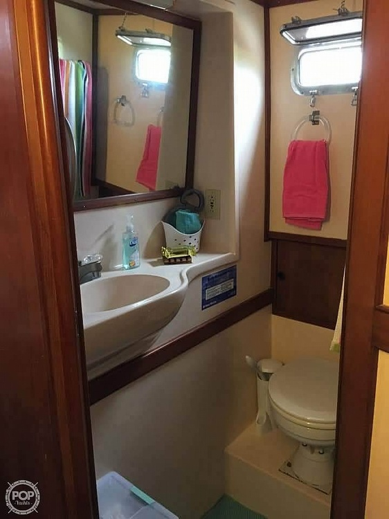 1987 CHB boat for sale, model of the boat is 34 Tri-Cabin & Image # 8 of 40