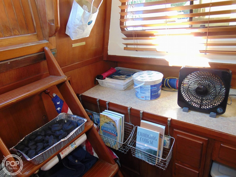 1987 CHB boat for sale, model of the boat is 34 Tri-Cabin & Image # 9 of 40