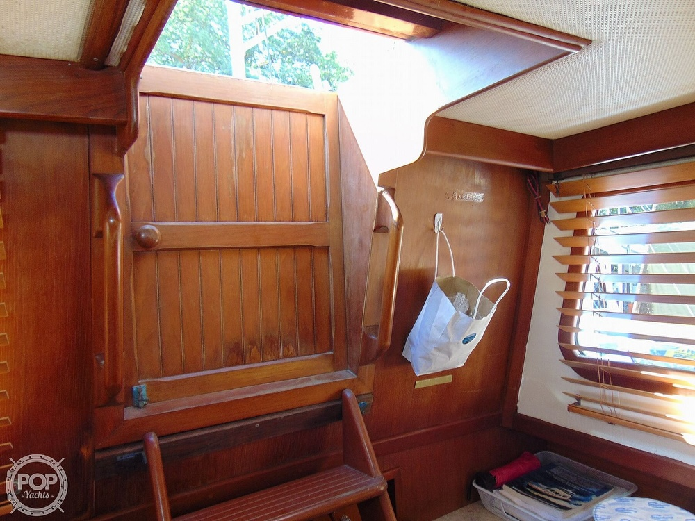 1987 CHB boat for sale, model of the boat is 34 Tri-Cabin & Image # 12 of 40