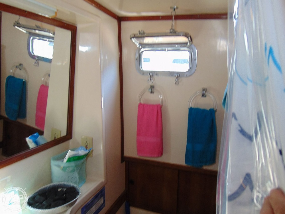 1987 CHB boat for sale, model of the boat is 34 Tri-Cabin & Image # 21 of 40