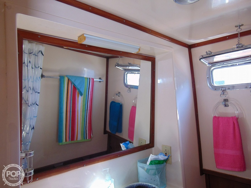 1987 CHB boat for sale, model of the boat is 34 Tri-Cabin & Image # 24 of 40