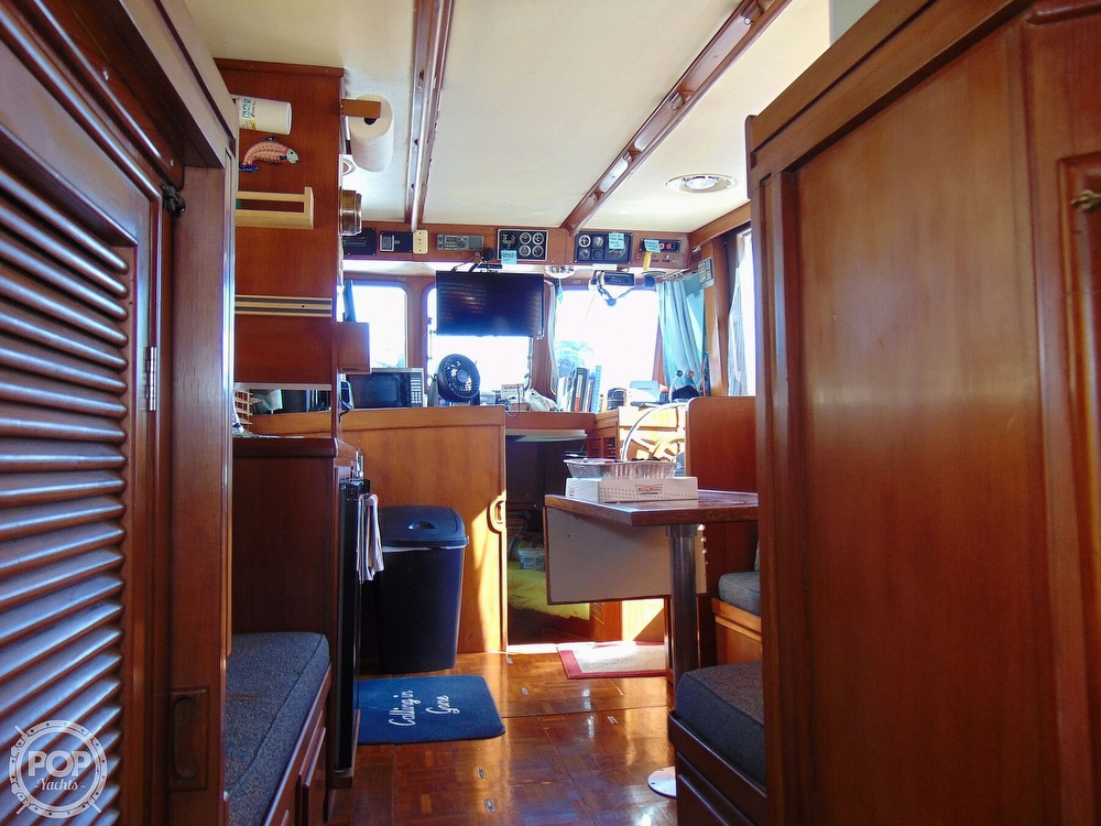 1987 CHB boat for sale, model of the boat is 34 Tri-Cabin & Image # 26 of 40