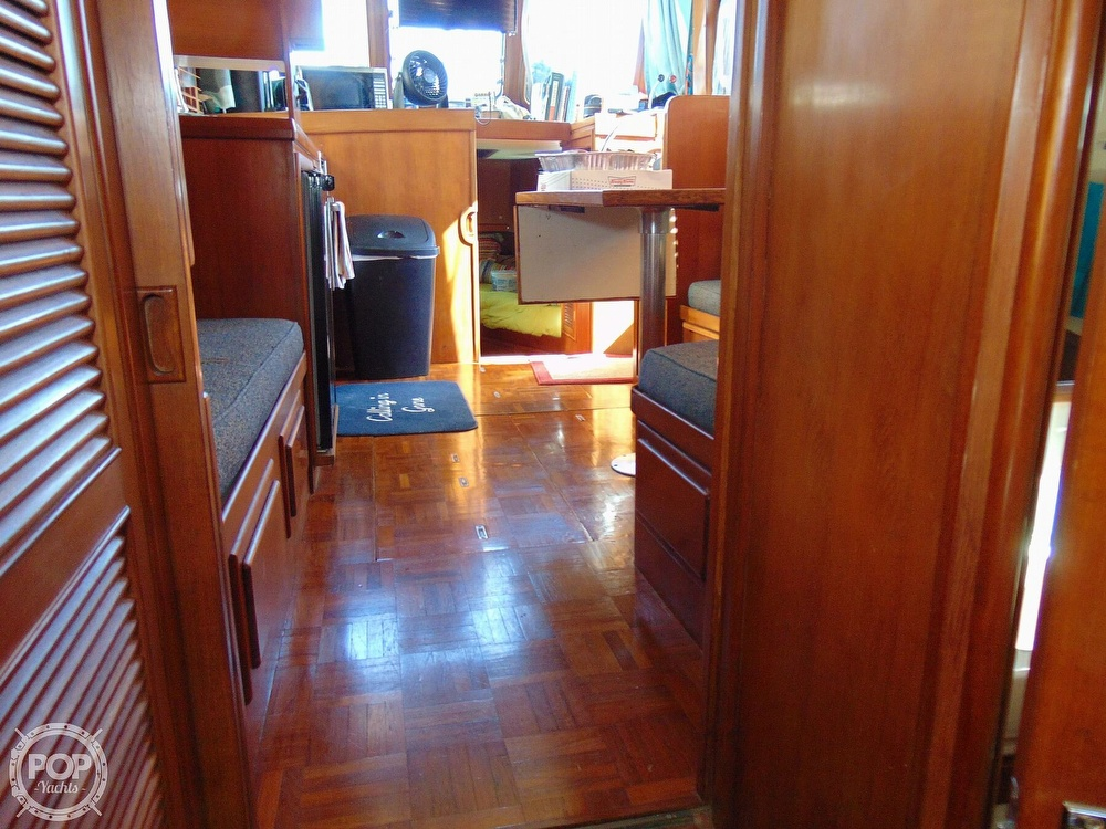 1987 CHB boat for sale, model of the boat is 34 Tri-Cabin & Image # 27 of 40