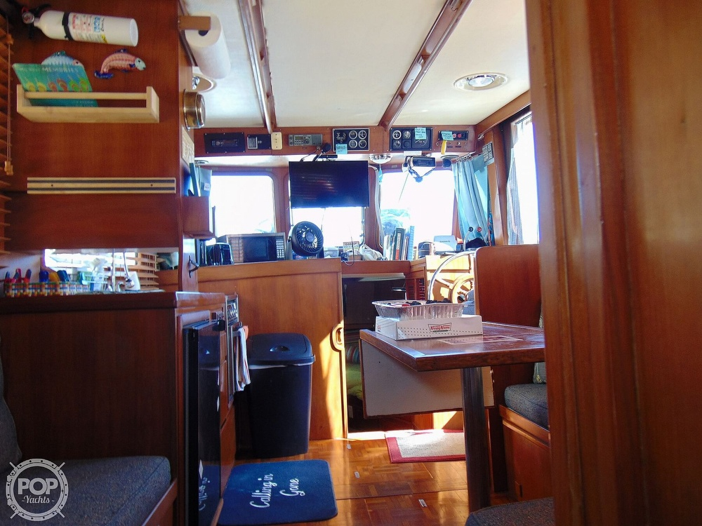 1987 CHB boat for sale, model of the boat is 34 Tri-Cabin & Image # 28 of 40