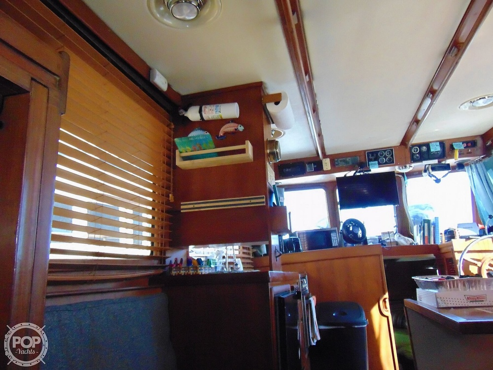 1987 CHB boat for sale, model of the boat is 34 Tri-Cabin & Image # 30 of 40