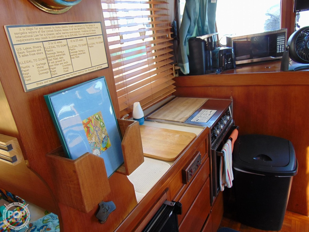 1987 CHB boat for sale, model of the boat is 34 Tri-Cabin & Image # 38 of 40
