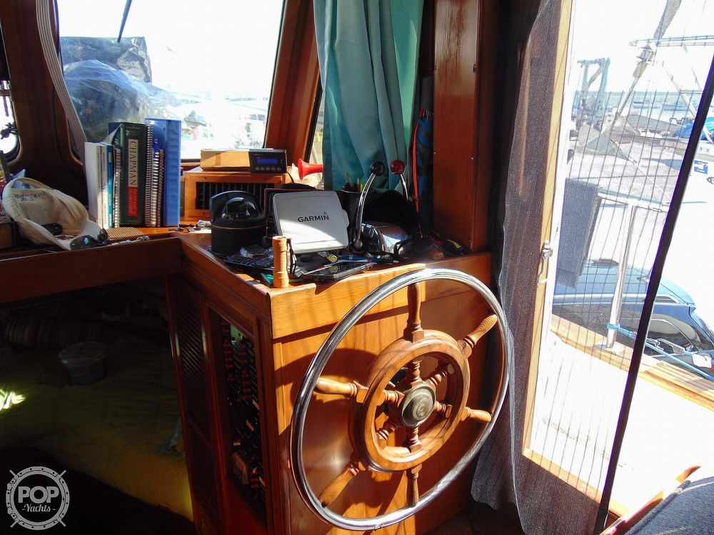 1987 CHB boat for sale, model of the boat is 34 Tri-Cabin & Image # 39 of 40
