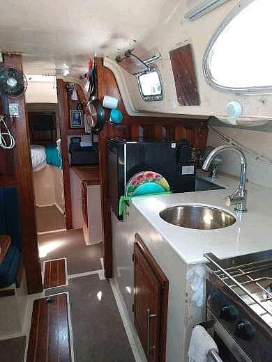 1973 Columbia boat for sale, model of the boat is 36 Mk II & Image # 12 of 14