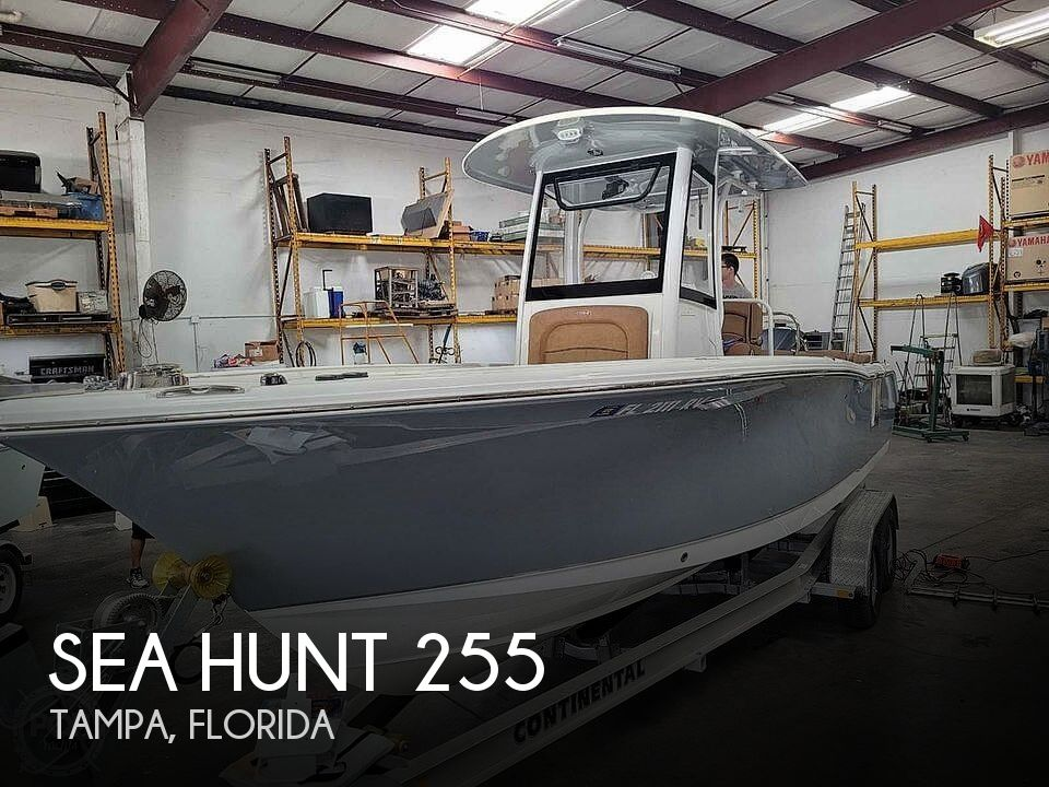 Used Sea Hunt Boats For Sale by owner | 2019 Sea Hunt 255 SE