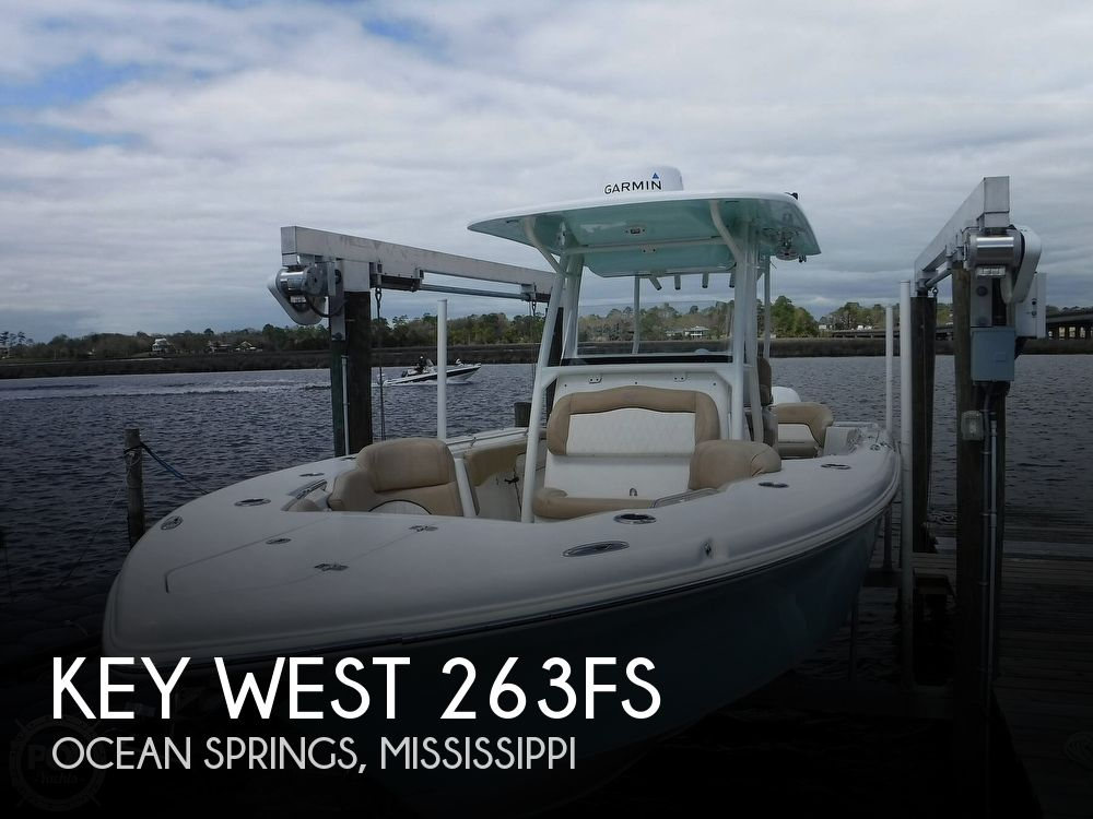 2018 Key West boat for sale, model of the boat is 263FS & Image # 1 of 40