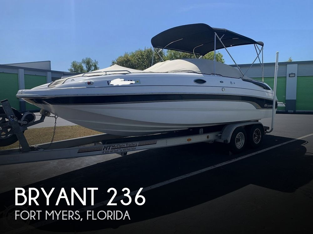 2005 Bryant boat for sale, model of the boat is 236 & Image # 1 of 40