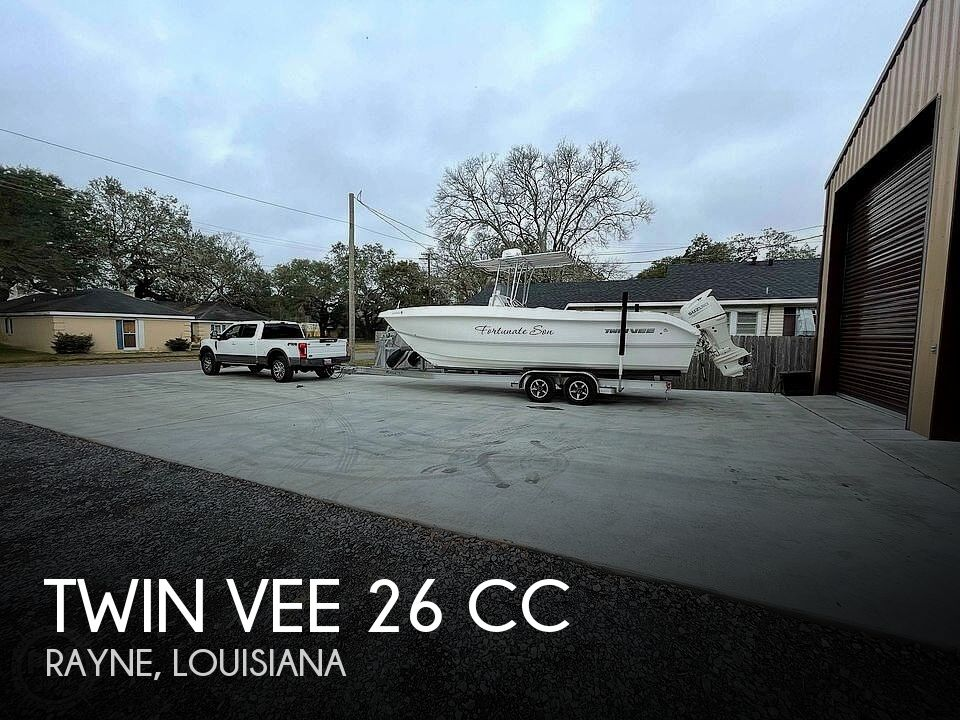 Used Boats For Sale in Lafayette, Louisiana by owner | 2018 Twin Vee 26 CC