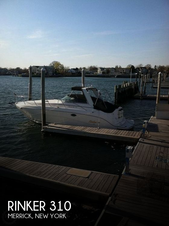 Used Rinker Boats For Sale in New York by owner | 2002 Rinker 310 Fiesta Vee