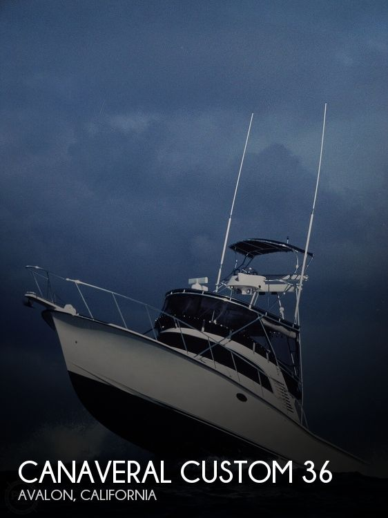 Used Fishing boats For Sale in California by owner | 1998 Canaveral Custom Boats In Delta 36 SFX