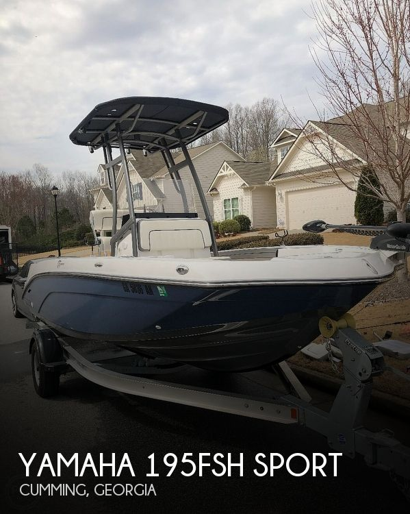 Used Yamaha Boats For Sale in Georgia by owner | 2020 Yamaha 195FSH Sport