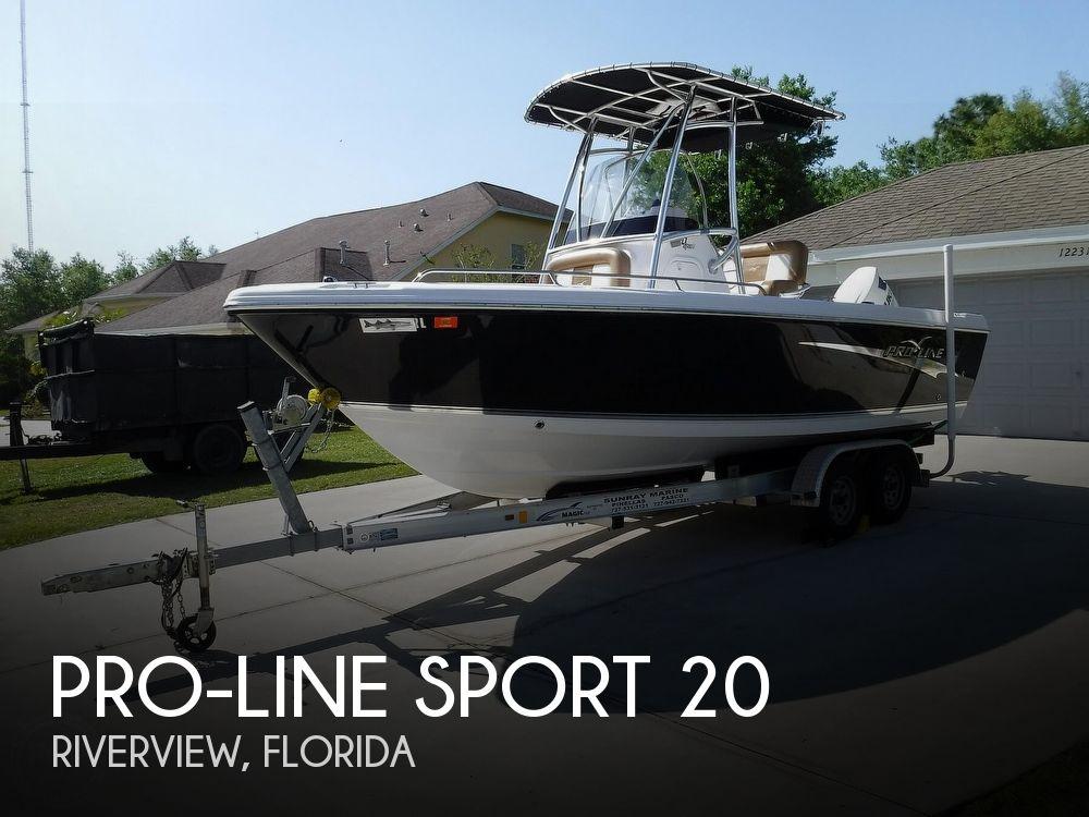 2017 PRO LINE SPORT 20 for sale
