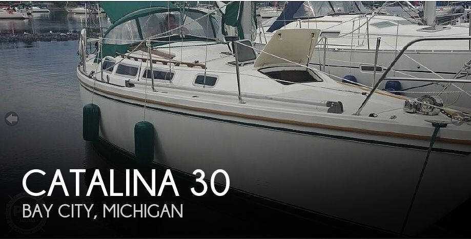 1984 Catalina Yachts boat for sale, model of the boat is 30 & Image # 1 of 40