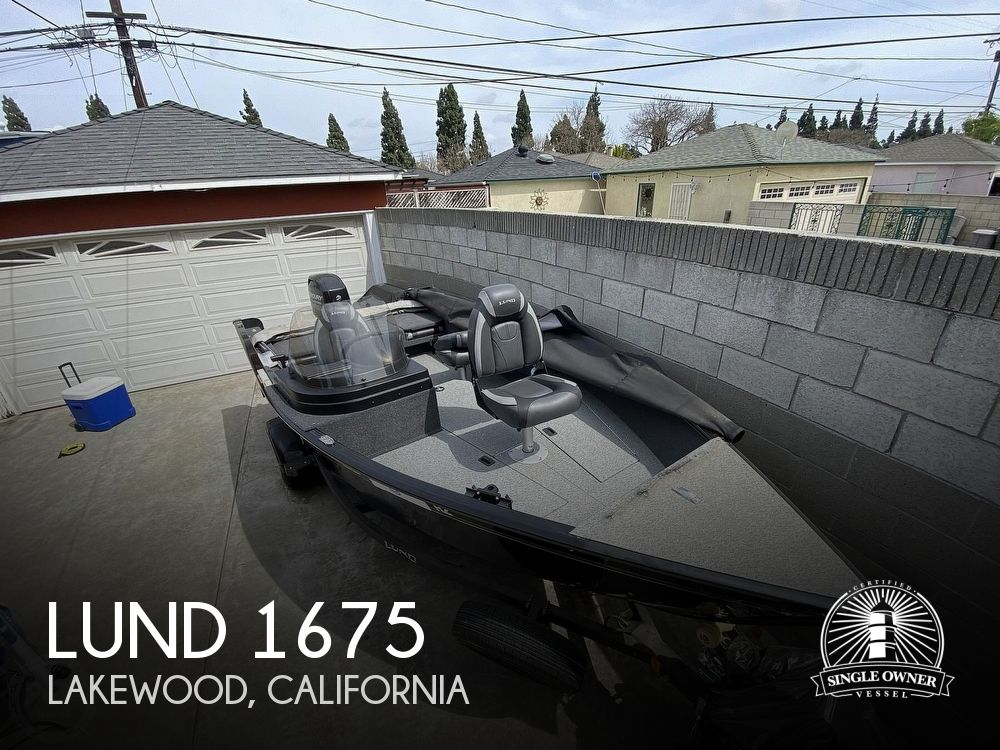 2019 Lund boat for sale, model of the boat is 1675 Adventure SS & Image # 1 of 41