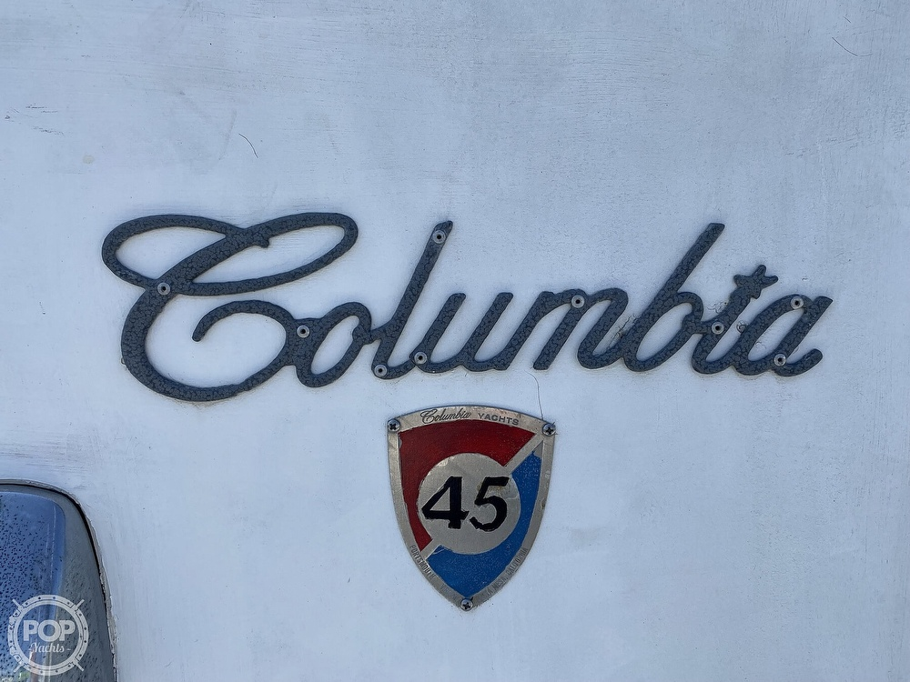 1972 Columbia boat for sale, model of the boat is 45 & Image # 13 of 40